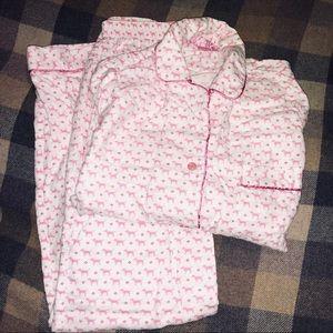 Victoria's Secret Pink flannel dog pjs